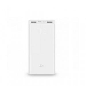Внешний аккумулятор Xiaomi MI Power Bank ZMI Aura QB821 (20000mAh) Белый