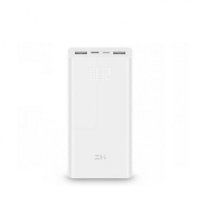 Внешний аккумулятор Xiaomi MI Power Bank ZMI Aura (QB821) (20000mAh) (Белый)