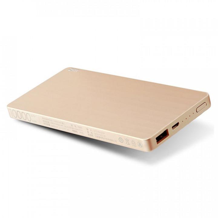 Внешний аккумулятор Xiaomi MI Power Bank ZMI (PB810) (10000mAh) (Золотой)