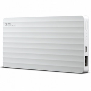 Внешний аккумулятор Xiaomi MI Power Bank ZMI PB810 (10000mAh) Белый