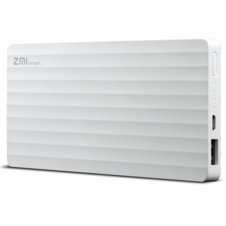 Внешний аккумулятор Xiaomi MI Power Bank ZMI (PB810) (10000mAh) (Белый)
