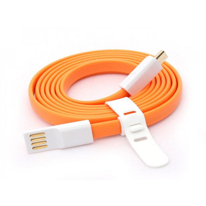 Кабель Micro-USB Xiaomi QC Data Cable Оранжевый 1,3m