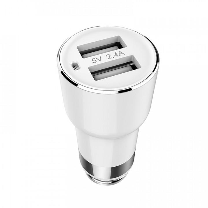 Автомобильная зарядка FM-Трансмиттер Xiaomi Roidmi 2 (Белый)