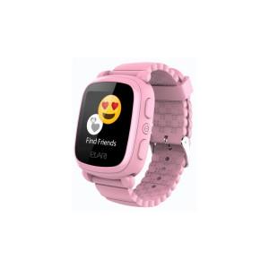 Детские часы с GPS Elari KidPhone 2 (Розовые)