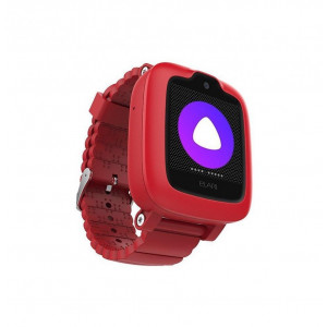 Детские часы с GPS Elari KidPhone 3G голосовой помощник Алиса (Красные)