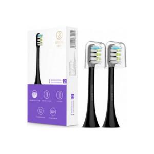 Сменные насадки для зубной щетки XIAOMI SOOCARE X3 (Черный)