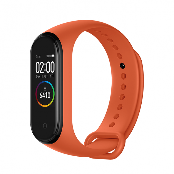 Фитнес браслет Xiaomi Mi Band 4 (Оранжевый)