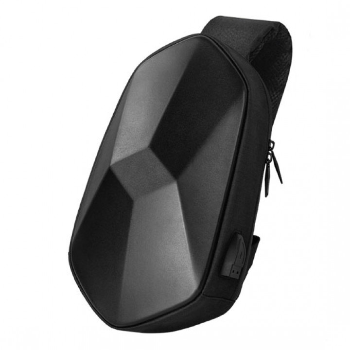 Рюкзак Xiaomi BEABORN Polyhedron PU Backpack USB Bag