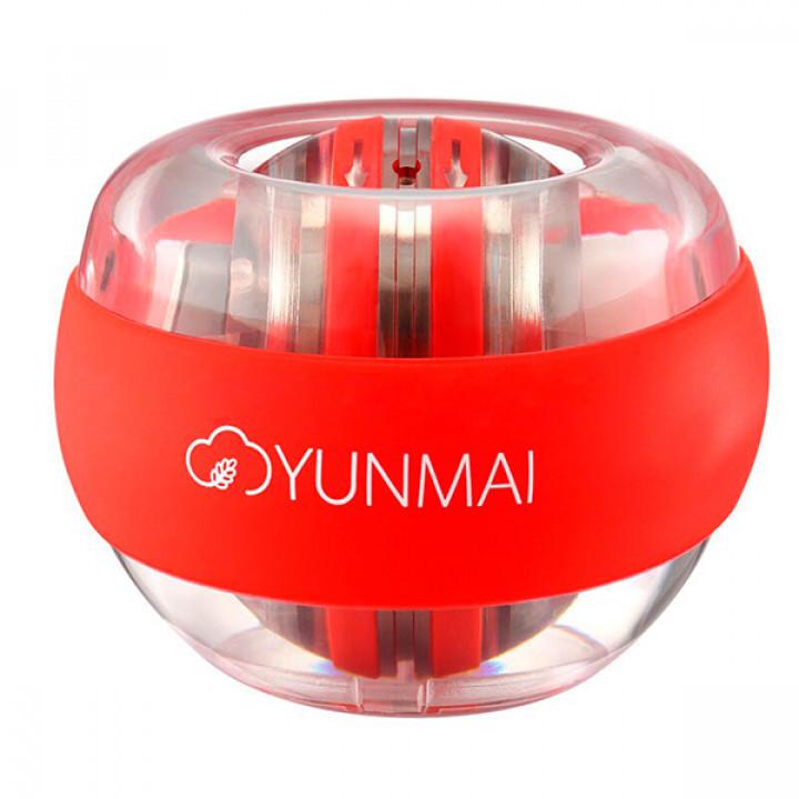 Кистевой гироскопический тренажер Xiaomi Yunmai Powerball (Красный)