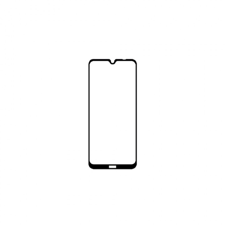 Защитное стекло Xiaomi Redmi Note 8T (черное)