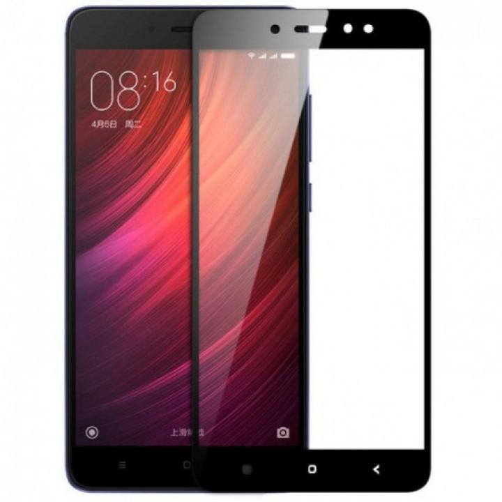Защитное стекло Xiaomi Redmi Note 3 (Черное)