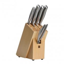 Набор ножей Xiaomi Nano Steel (HU0014) (4 ножа, ножницы, подставка)