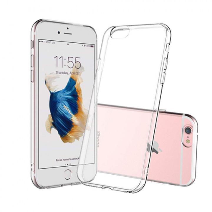 Силиконовый чехол (прозрачный) на iPhone 6/6S