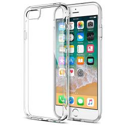 Силиконовый чехол (прозрачный) на iPhone 6 Plus