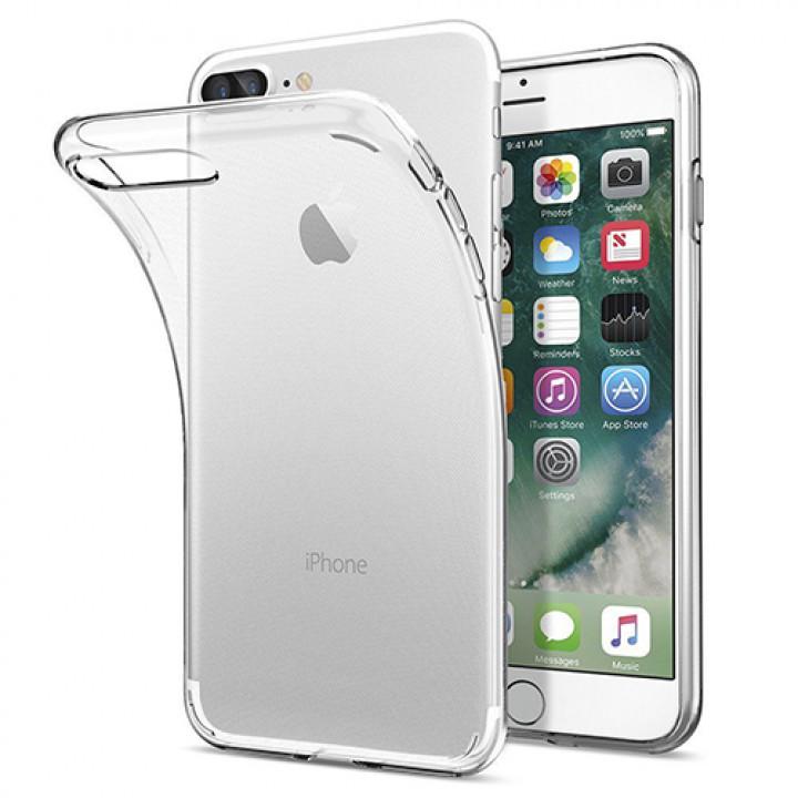 Силиконовый чехол (прозрачный) на iPhone 7 Plus/8 Plus