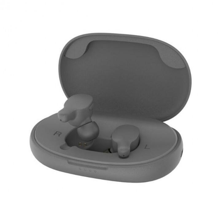 Беспроводные наушники REMAX True WIreless Atereo Headset TWS-3 (Серые)