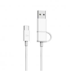 Кабель 2 в 1 USB/Type-C/Type-C Xiaomi ZMI 100см (AL311)