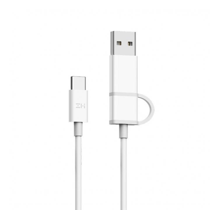 Кабель Xiaomi ZMI Type-C/Type-C (150 см) (Белый) (AL301)