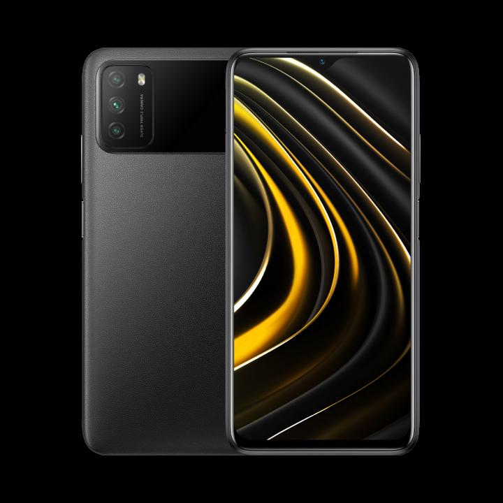 Xiaomi POCO M3 4/128Gb РОСТЕСТ (Черный)