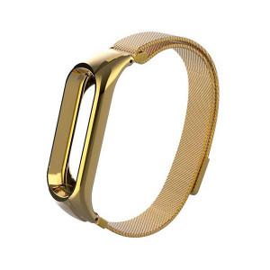 Миланская Петля Xiaomi Mi Band 4 (Золотой)