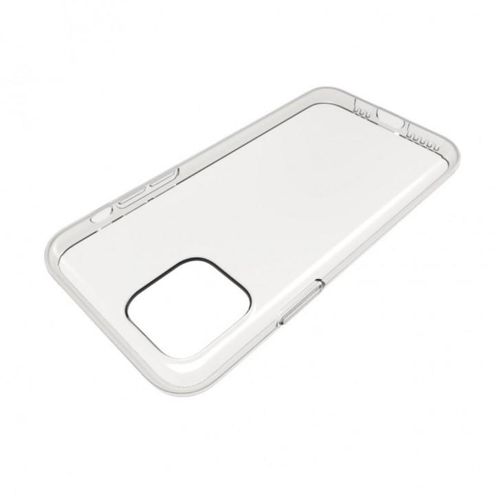 Силиконовый чехол (прозрачный) на iPhone 11 Pro Max