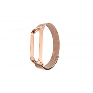 Миланская Петля Xiaomi Mi Band 4 (Розовое Золото)