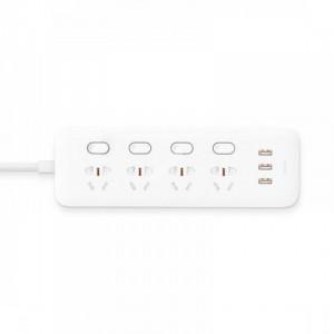 Удлинитель Xiaomi Mi Power Strip (4 розетки+3 USB, белый)