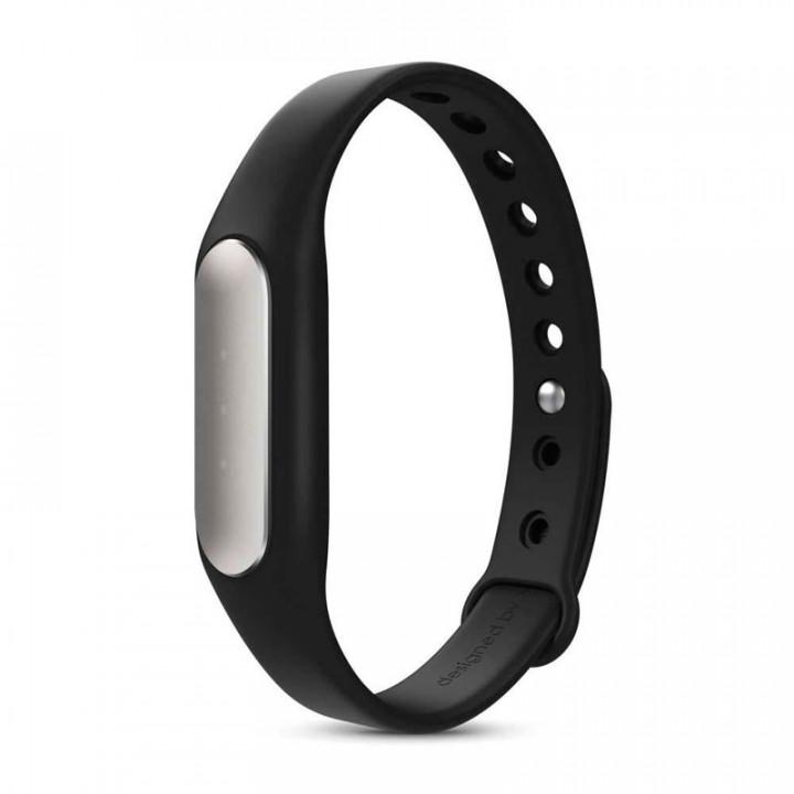Браслет силиконовый Xiaomi Mi band 1S (Черный)