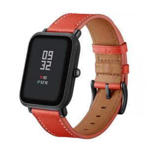 Ремешок кожаный Amazfit BIP (Красный)