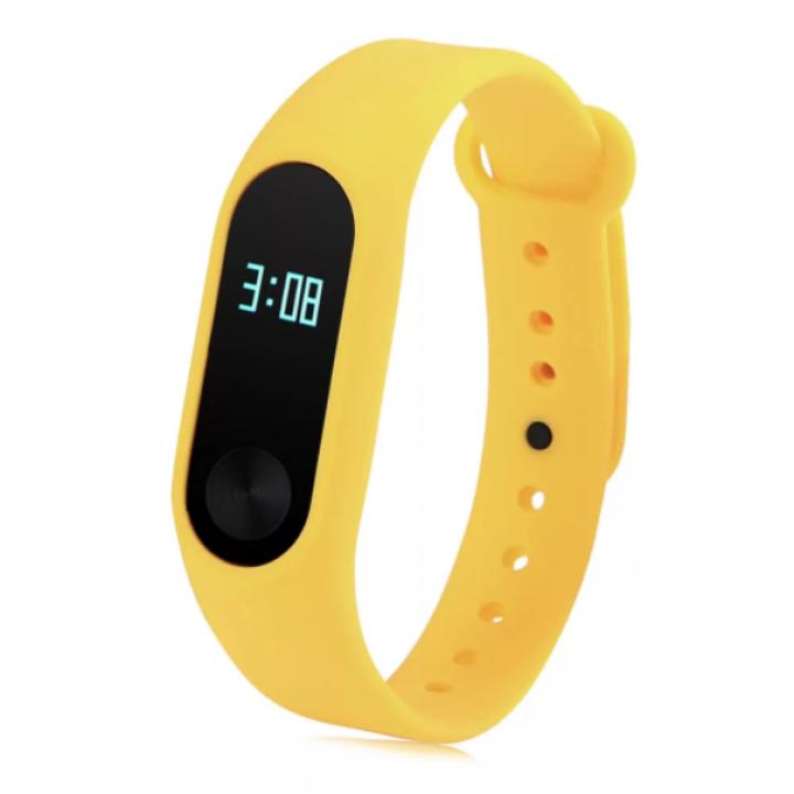 Ремешок для Xiaomi Mi Band 2 (Желтый)