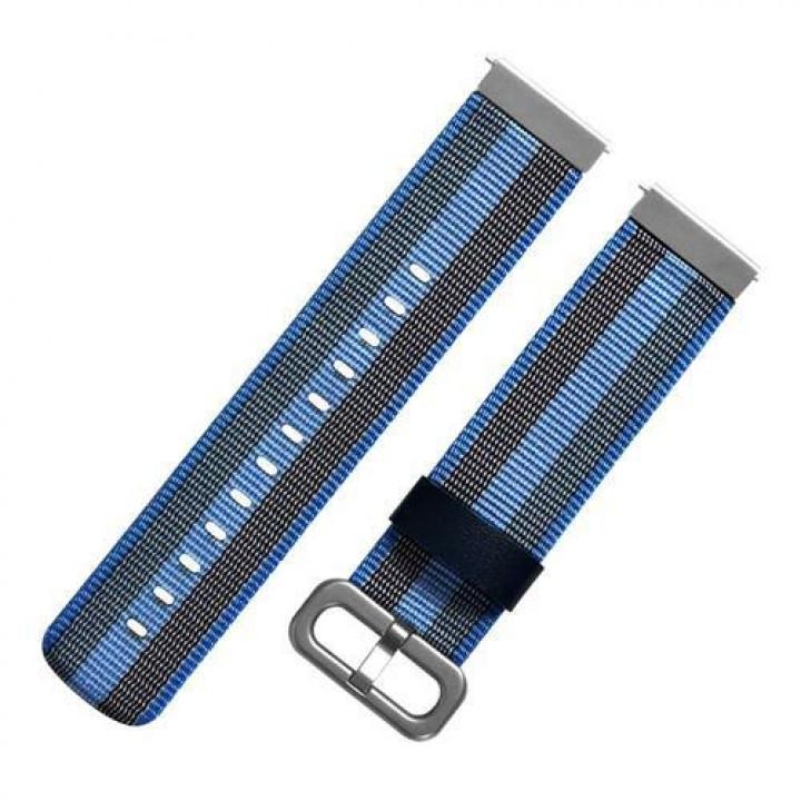 Ремешок нейлоновый Amazfit BIP/GTS/GTR-42mm (Синий) (20mm)
