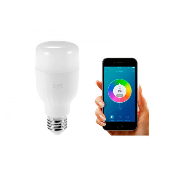 Умная Wi-Fi лампочка Xiaomi Yeelight LED Smrt Buld (Белый)