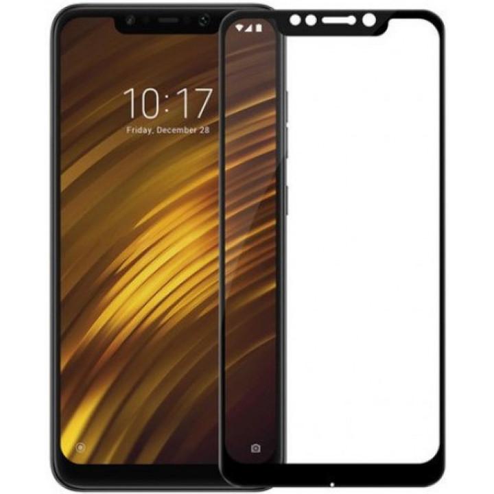 Защитное стекло Xiaomi Pocophone F1 (Черное)