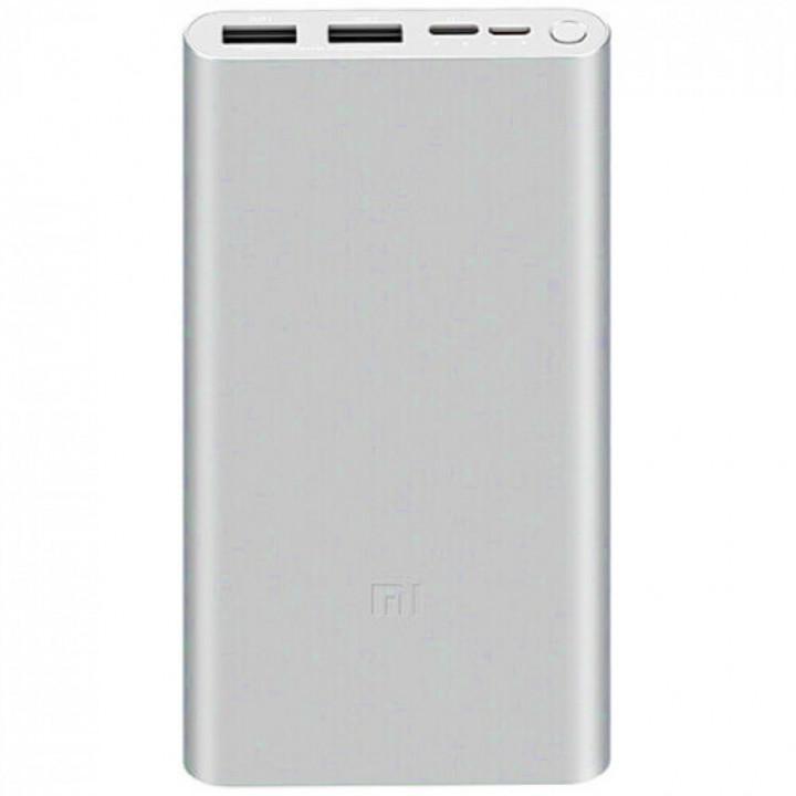 Внешний аккумулятор Xiaomi Power Bank 3 (PLM13ZM) (10000mAh) (Серый)