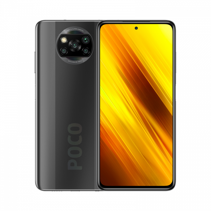 Xiaomi POCO X3 6/64Gb Global Version (Серый) (NFC)