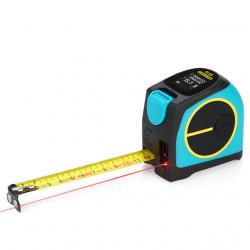 Лазерный дальномер Xiaomi Mileseey Laser Ranging Tape Measure (DT10) 40 м (голубой/черный)