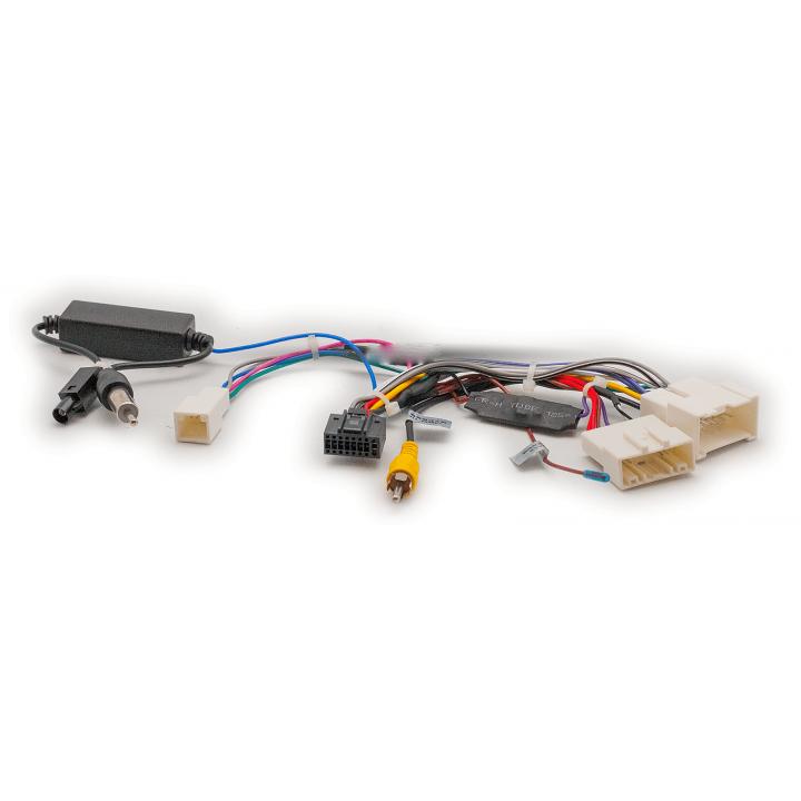 CARAV 16-017 Провода Android ГУ LADA XRay 2015+/Power/Speakers/Antenna/Wheel/Camera