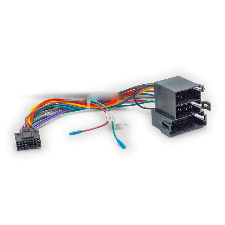CARAV 16-024 Провода для Android ГУ PEUGEOT/Power/Speakers/Wheel/(Mini-ISO)