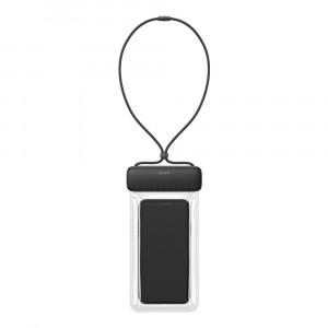 Водонепроницаемый чехол Baseus Let's Go Universal Waterproof Case (ACFSD-DG1)(серый-черный)