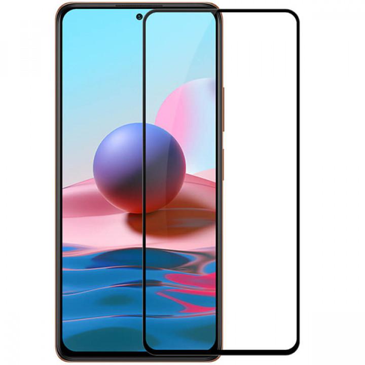 Защитное стекло AUZER Xiaomi Redmi Note 10S (Черное)