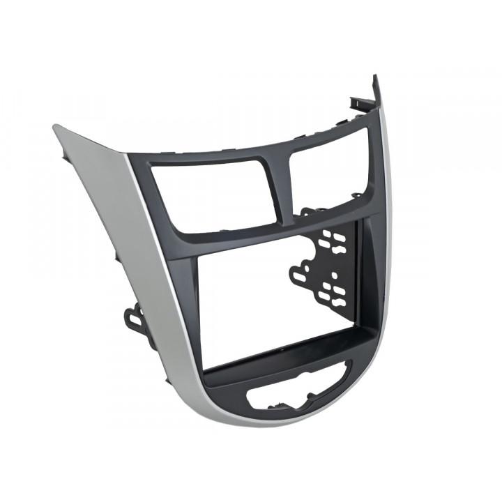 Incar RHY-N19 (2 DIN монтажная рамка для а/м Hyundai Solaris 2011-17)