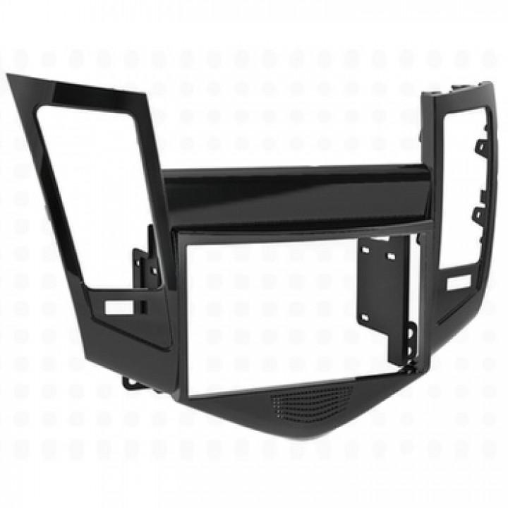 Incar RCV-N08 (2-DIN монтажная рамка для а/м Chevrolet Cruze 09-12)(Черный)
