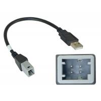 Incar USB TY-FC105 (USB-переходник TOYOTA 2019+ для подключения магнитолы INCAR к штатному разъему USB)