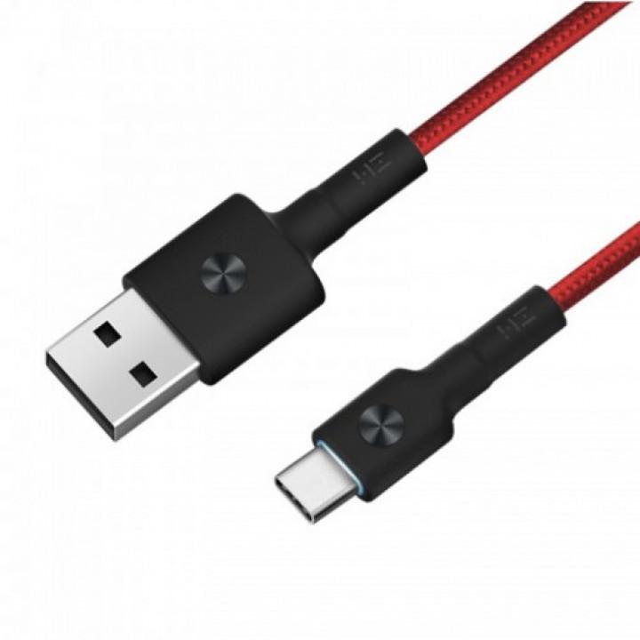 Кабель ZMI Magnet USB Type-C Cable (30см) (Красный) (AL411)