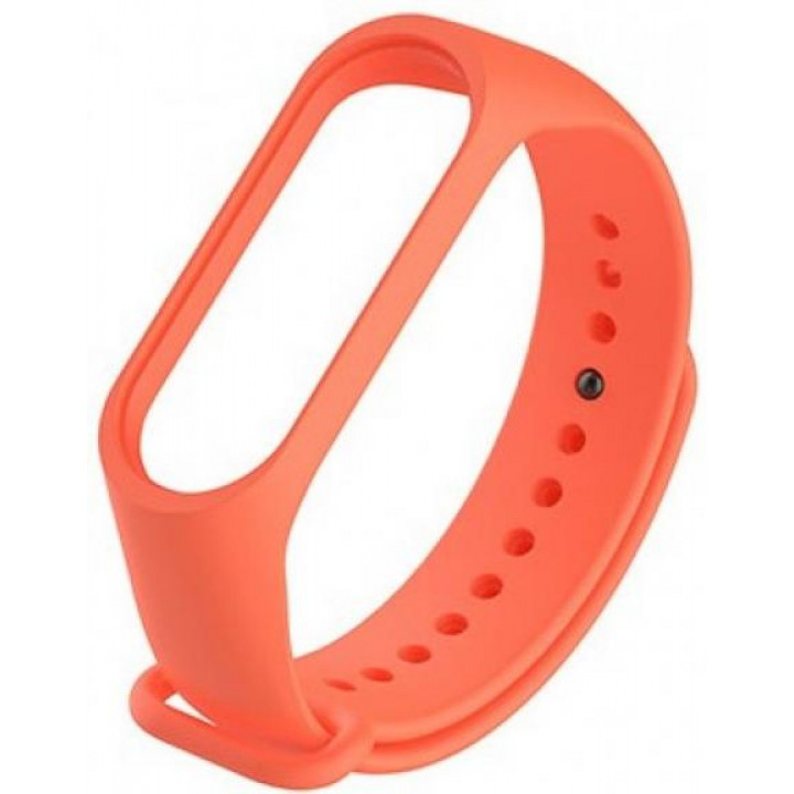 Силиконовый ремешок Xiaomi Mi Band 4 (Оранжевый)