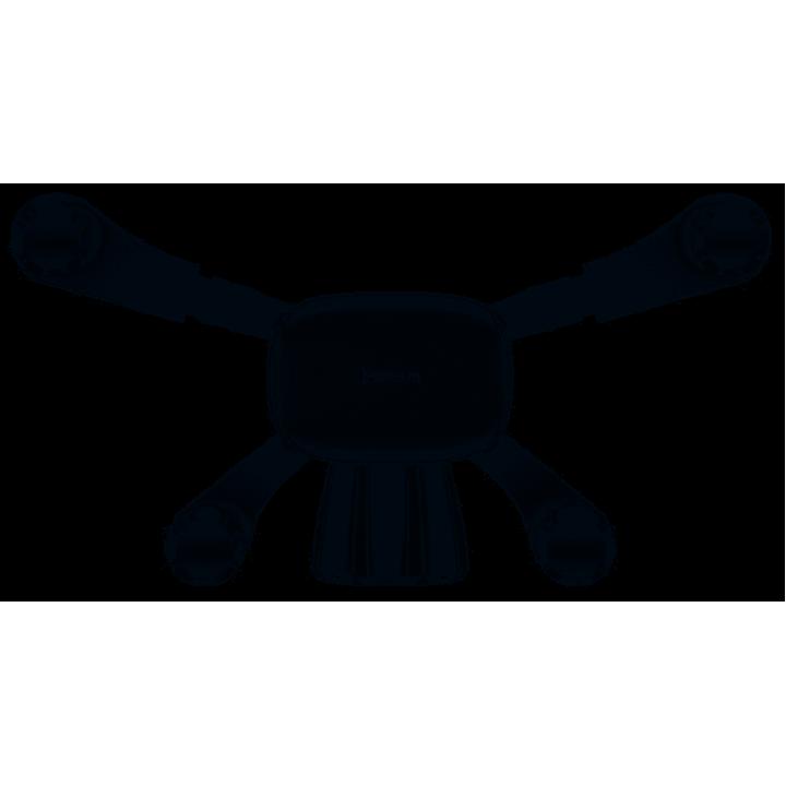 Автомобильный держатель Baseus Car Mount Holder Horizontal Screen Gravity (Белый) (SUYL-HP02)