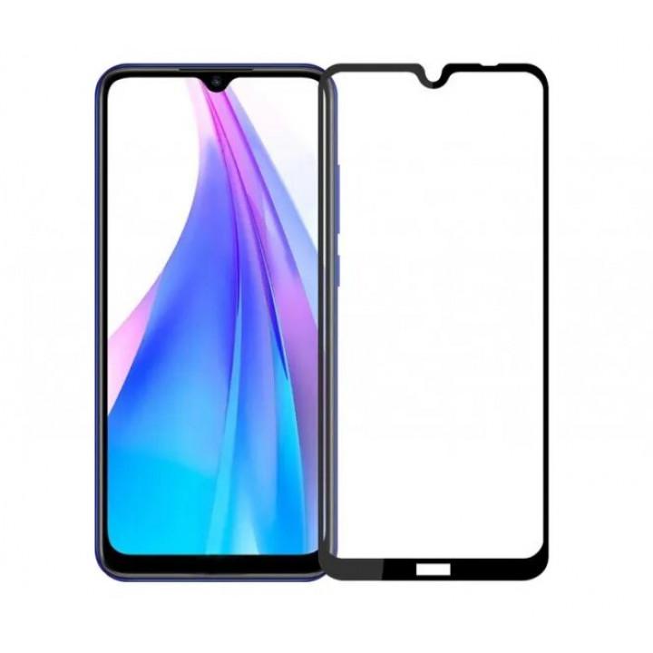 Защитное стекло AUZER Xiaomi Redmi Note 8T (черное)