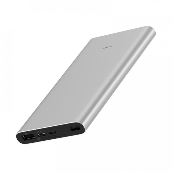 Внешний аккумулятор Xiaomi Mi Power Bank 3 (PLM12ZM) (10000mAh) (Серый)