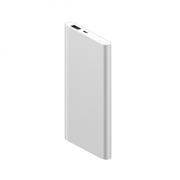 Внешний аккумулятор Xiaomi Mi Power Bank (NDY-02-AM) (5000mAh) (Серый)