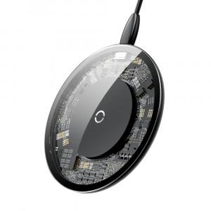 Беспроводное зарядное устройство Baseus Simple Wireless Charger (10W) (Прозрачная)